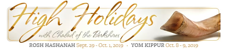 High Holidays with Chabad of the Berkshires